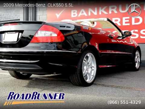 2009 mercedes benz clk550 5 5l roadrunner auto group for Mercedes benz dealer van nuys