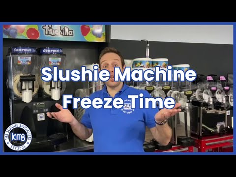 Slushie Machine Freeze Time