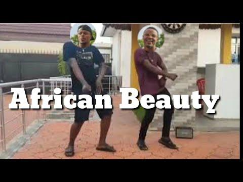 Alikiba na abdukiba wakicheza nyimbo ya diamond ft omarion-African beauty