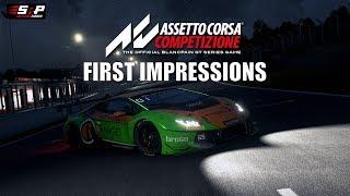 Assetto Corsa Competizione - First Impressions