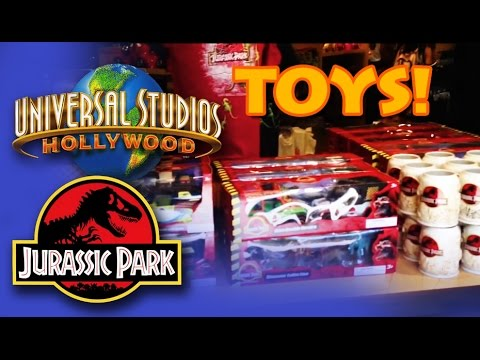 Jurassic Park Toys Haul From Universal Studios Hollywood