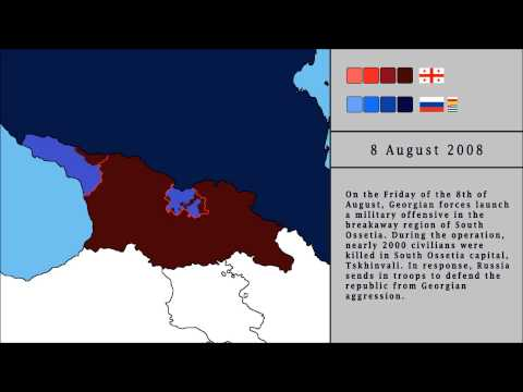 Russo - Georgian War of 2008