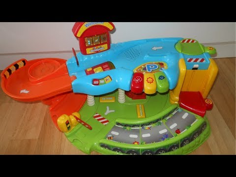 V Tech Garage : Vtech baby toot toot drivers garage youtube