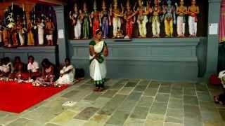 navaratri barata natyam  danse 20 10 15  all rights reserved c.ganessane