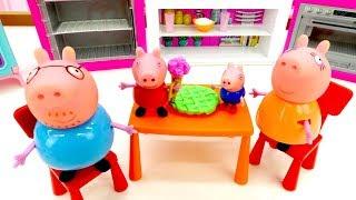Свинка Пеппа на русском. Играем в магазин. Видео игрушки