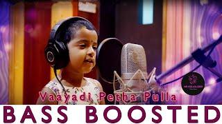Vaayadi Petha Pulla Song ||Kanaa Song|Sivakarthikeyan |Dhibu Ninan Thomas|BASS BOOSTED||NS EQUALIZER