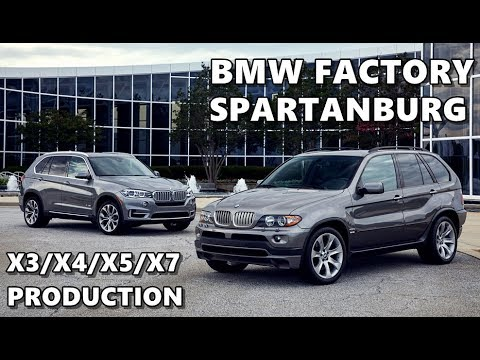 BMW Factory Spartanburg Plant (SUV Production)