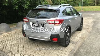 Subaru XV Sights & Sounds