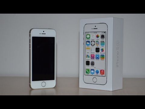 Apple iPhone 5S - Unboxing HD [Silver]