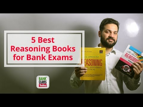 5 Best Reasoning Books For IBPS, SBI Exams
