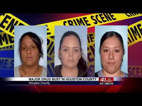Dozens arrested in major drug ring in Houston Co