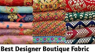 biggest wholesale clothes market,designer fabric for lehenga,gown,crop-top,suit,partywear dress