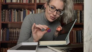 ASMR RUDE LIBRARIAN ROLEPLAY