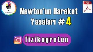 Newtonun Hareket Yasaları -4  PDF  AYT Fizik