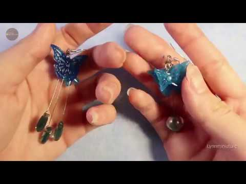 DIY Resin Jewelry | Making Butterfly Ear drop - Handmade product | Teaser Video