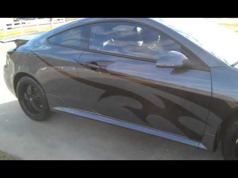 Pontiac G6 GXP- Custom paint job. Magnaflow - YouTube