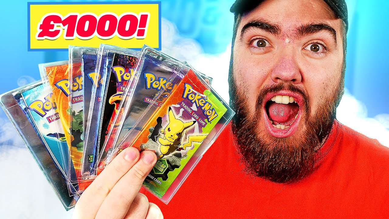 Opening £1000 worth of VINTAGE EX ERA Pokémon Cards! *EX DRAGON, FIRE RED & UNSEEN FORCES PACKS*