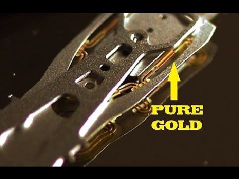 Hard Drive Tear Down For Precious Metals! In Detail HD