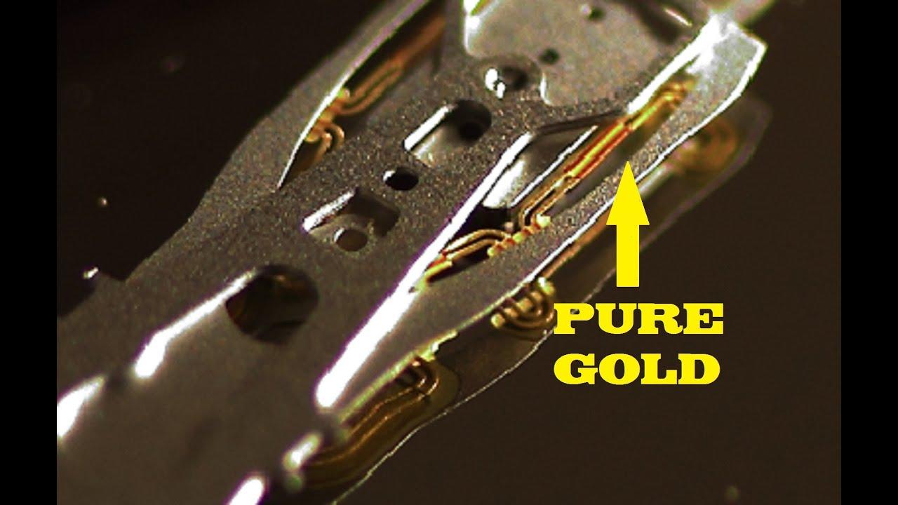 Hard Drive Tear Down For Precious Metals In Detail Hd