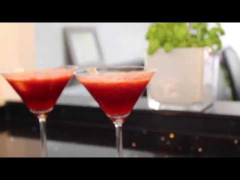 Çilekli Margarita kokteyl tarifi / Cocktail - alkollü -