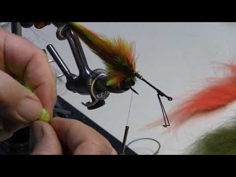 Bass 4 x Black Matuka Sculpin Streamer Fly Fishing Flies For Trout Salmon