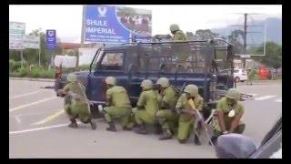 Majambazi walipopambana na Polisi baada ya kuiba pesa NMB Bank