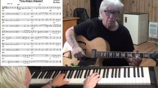 This Magic Moment - Jazz guitar & piano cover ( Mort Shuman )