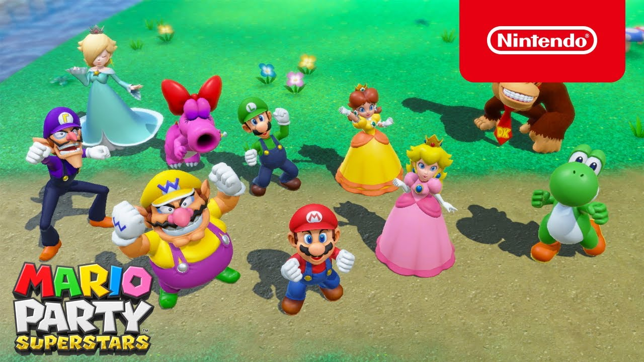 Mario Party Superstars - Overview Trailer - YouTube