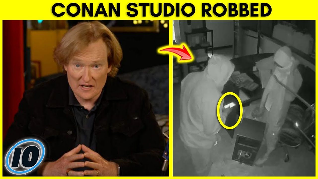 Conan O'Brien Says Studio Was Robbed Because Of This