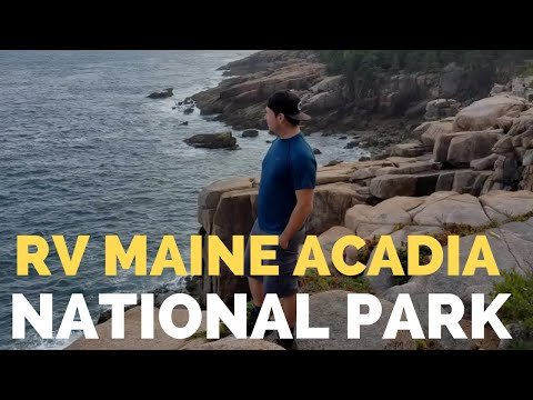 We Explore Bar Harbor & Acadia National Park, Maine // Cadillac Mountain // Thunder Hole