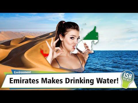 Emirates Makes Drinking Water!