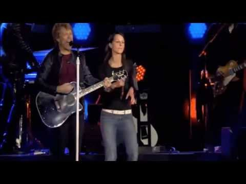 Bon Jovi and Christina Stürmer Live in Stockholm you can't go home