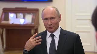 Встреча Путина с финалистами конкурса