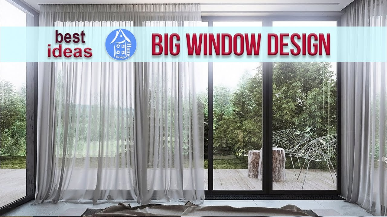 Large windows new windows for home modern house window - Window design for home ...