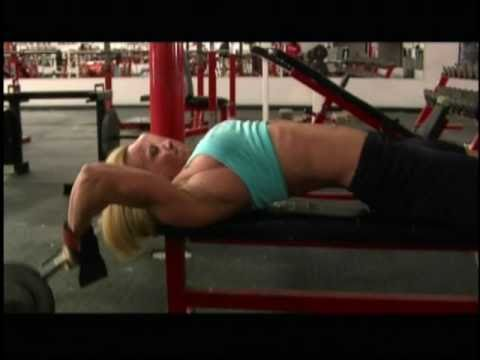 Holly Chambliss Female Muscle Training