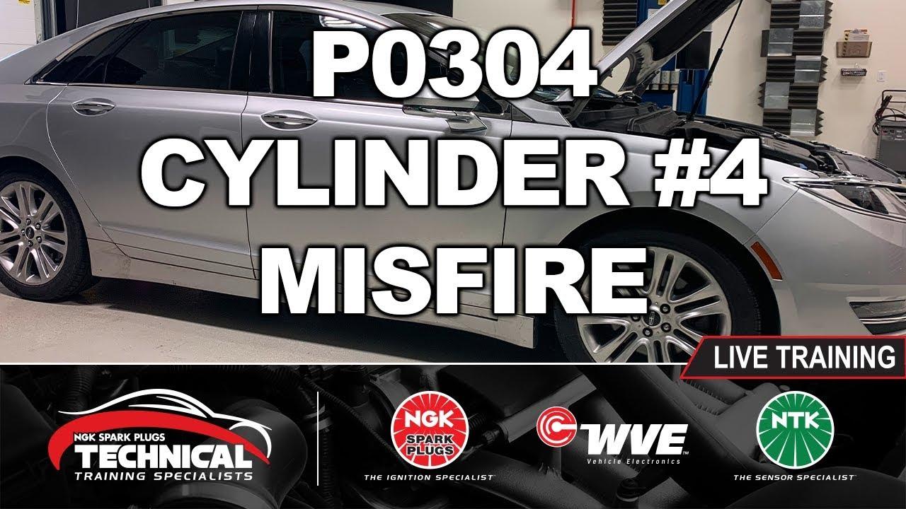P0304 Misfire Code - 2014 Lincoln MKZ 3 7L