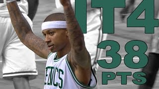 Isaiah Thomas Scores 38 in Win Over Rockets | 01.25.17