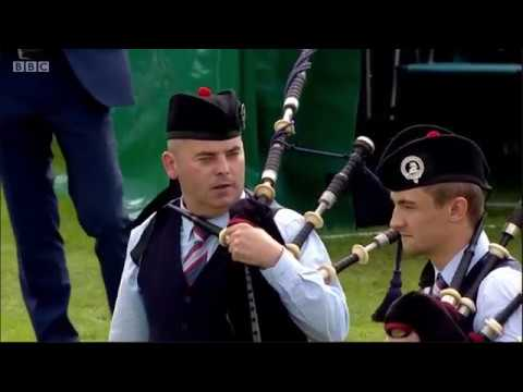 Manorcunningham Pipe Band Grade 2 Final World Pipe Band Championship