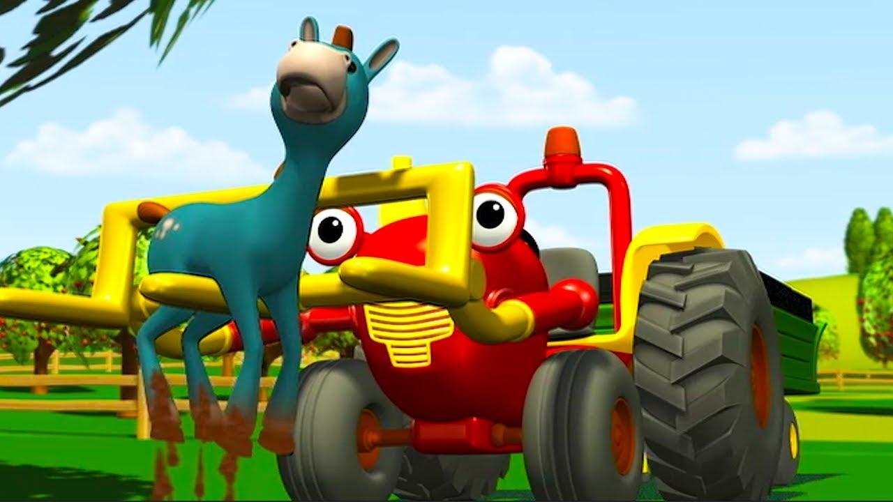 Tracteur tom magie la ferme dessin anime pour enfants tracteur pour enfants youtube - Tracteur tom dessin anime ...