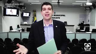 Izaias Colino protocola projeto para manter álcool em gel em agências bancárias após a pandemia