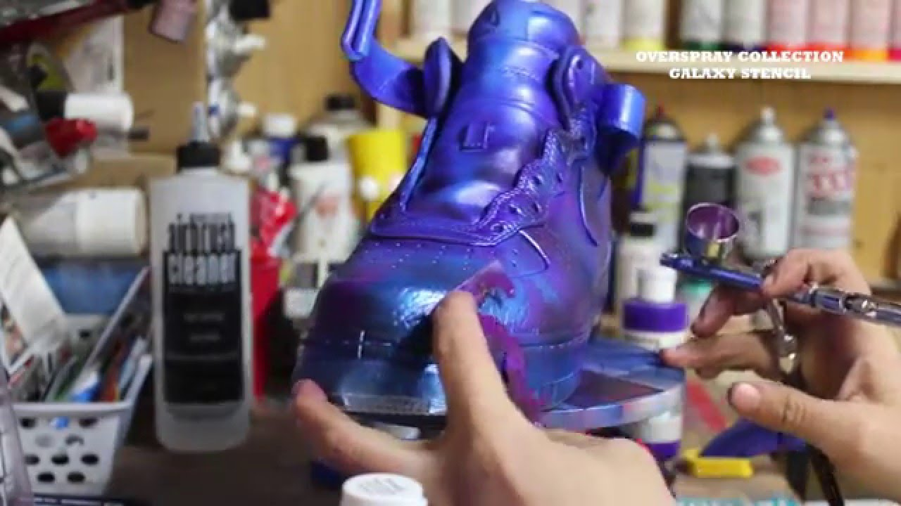Custom Nike Airforce 1 Star Trek Spoc Kingofsneakers.com KOS - YouTube