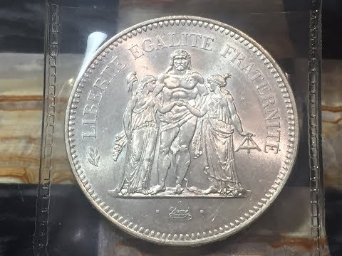 France 50 Francs 1975 (Large Silver Coin) Off EBay Under Spot