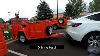 Tesla Model Y Toẁing a Trailer!! - How To & First Impressions!