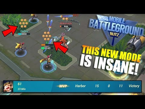 NEW Mobile Battleground Blitz Game Mode BOUNTY WAR! | Harbor
