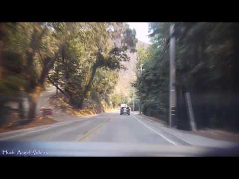 Driving in Big Sur Village