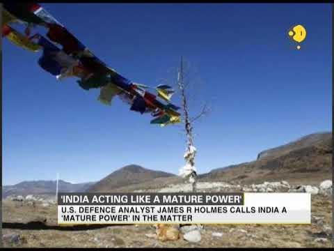 Doklam standoff: India acting like mature power while China like teenager, says US defence analyst