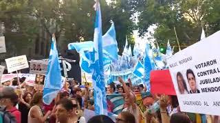 Protesta y movilización sindical en Mendoza.
