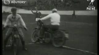 FOOTBALL ITALY Motorcycle football match 1930