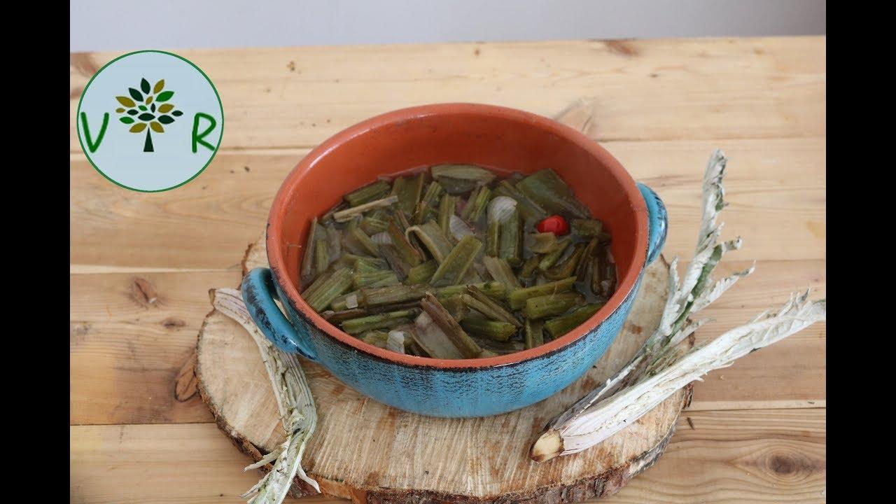 Comment préparer et cuisiner le cardon Cynara cardunculus altilis / sylvestris YouTube