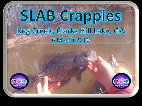 Keg Creek, Clarks Hill Lake, 6 March 2016 Final
